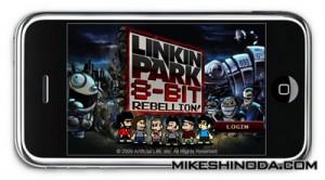 8-bit Rebellion, Juego de Linkin Park llega al iPhone - 1262892643.86367.8bitrebellioniPhoneimage-300x166