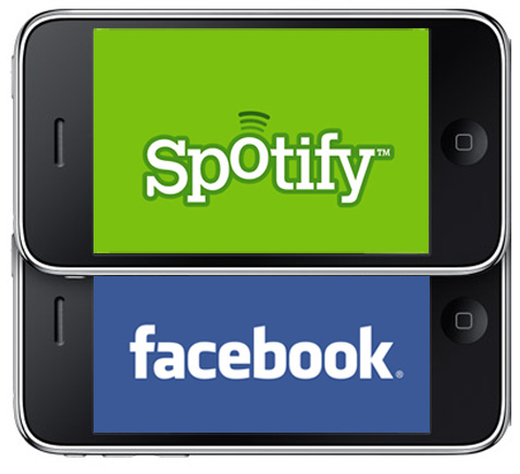 27 spotify facebook Spotify evoluciona y se alia con Facebook