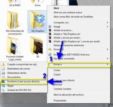 Como crear accesos directos de cualquier aplicación, carpeta o archivo en Windows - Acceso-22