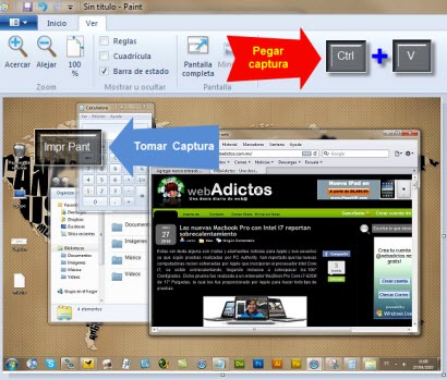 Captura de pantalla 1 Como tomar capturas de pantalla en Windows