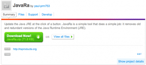 Como mantener Java actualizado y borrar las versiones anteriores para ahorrar espacio en el disco - Captura-de-pantalla-2010-04-11-a-las-13.04.12-300x134