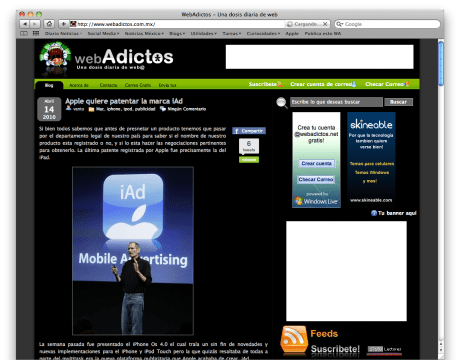 Cómo tomar capturas de pantalla en MAC - Captura-de-pantalla-2010-04-15-a-las-07.57.20-e1271338749594