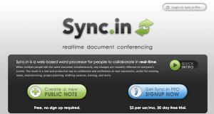 Sync.in, Edita texto en tiempo real para trabajo en equipo - Captura-de-pantalla-2010-04-23-a-las-19.02.12-300x161