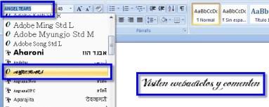 Como instalar fuentes 2 Como instalar nuevas fuentes o letras en Windows