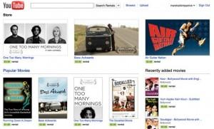 Youtube abre servicio de alquiler de videos en su tienda - Youtube-Store-300x181