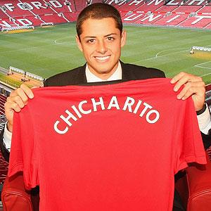 Chicharito al Manchester United - chicharito-manchester-united