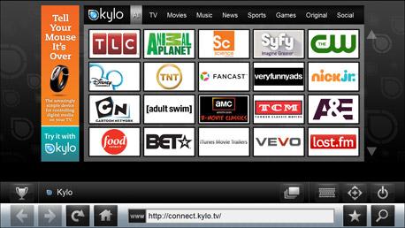 internet tv Navegar en internet desde tu TV HDTV con Kylo.tv