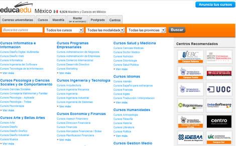 Maestrías, carreras y más en México - EducaEdu - universidades-mexico