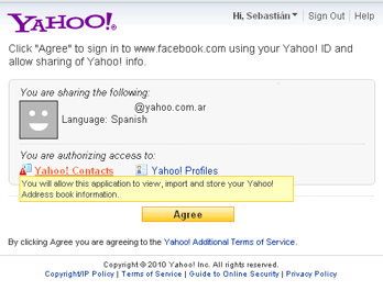 Yahoo! integra soporte para OAuth en Yahoo! Mail - yahoo-oauth
