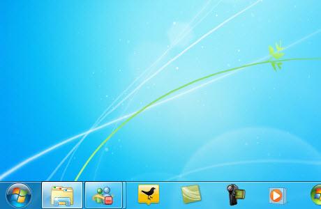 30 05 2010 08 51 59 p.m. Como hacer tu barra de tareas de Windows 7 más pequeña