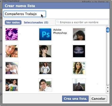 Como hacer listas de amigos en Facebook 4 Como hacer listas de amigos en Facebook