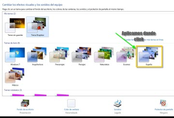 Como cambiar apariencia de ventanas Windows 7 - Como-personalizar-Aero-en-Windows-7