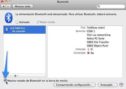 Conectar un celular a tu Mac usando bluetooth Conectar un celular a tu Mac usando bluetooth