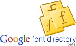 Google libera un directorio de fuentes de texto - Google-Font-Directory
