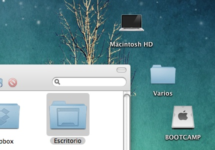 Alinea los iconos en el Finder automáticamente - alinear-iconos-mac-por-defecto-automaticamente-1