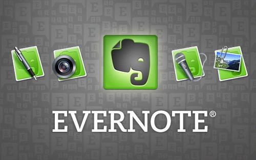 evernote Escribe notas importantes con Evernote