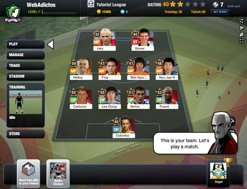 juegos futbol facebook Juegos de futbol, FIFA Superstars