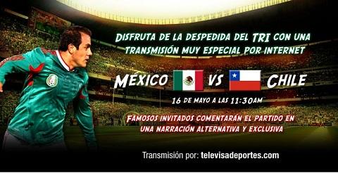 Mexico vs Chile en vivo - mexico-chile-despedida