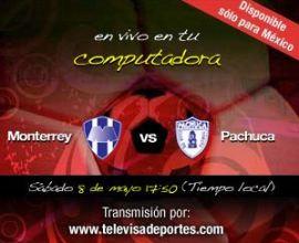monterrey pachuca cuartos vuelta Liguilla del Futbol Mexicano Cuartos de Vuelta en Vivo!
