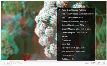Youtube incluye soporte para videos en 3D - reproducto-3d-youtube