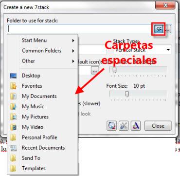 stack 2 Agrega un efecto de Stack a tus carpetas en Windows 7