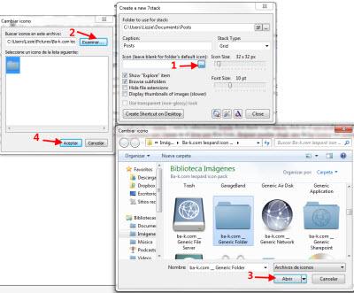 stack 4 Agrega un efecto de Stack a tus carpetas en Windows 7