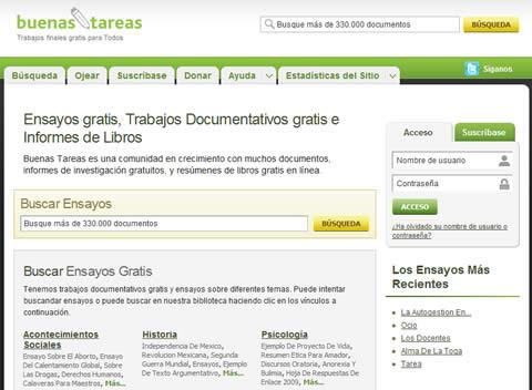 tareas ensayos gratis Ensayos gratis y más recursos para tus tareas, buenastareas.com