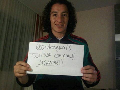 twitter andres guardado Sigue por Twitter a la Selección Mexicana de Futbol