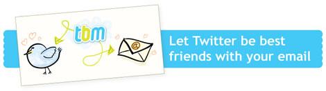 Twitter en tu email con Tweetbymail - twitter-mail