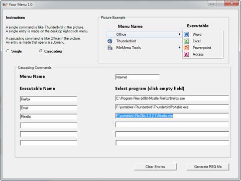 Modificar el menu de windows 7 con YourMenu - yourmenu