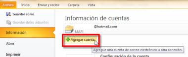 Agregar tu cuenta de Hotmail en Outlook 2010 - agregar-otra-cuenta-outlook