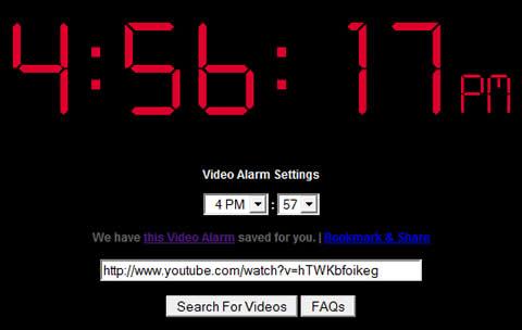 Alarma online, Video Alarm ClockVideo - alarma-online
