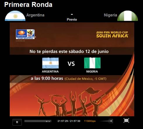 argentina mundial nigeria