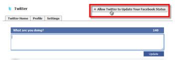 Como vincular tu cuenta de Twitter con Facebook - autorizar-twitter