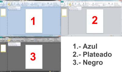 Cambiar el color del menu de Office 2010 - colores-office-2010