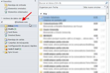 Agregar tu cuenta de Hotmail en Outlook 2010 - cuenta-hotmail-outlook
