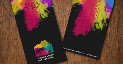Diseños de tarjetas de presentación (95 diseños) - diseno-tarjetas-presentacion-Ahmed-Murtaza