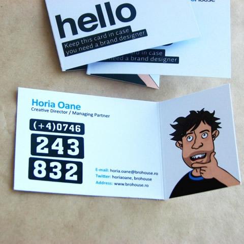 diseno tarjetas presentacion BroHouse Diseños de tarjetas de presentación (95 diseños)
