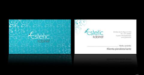 diseno tarjetas presentacion Estetic Kabinet Diseños de tarjetas de presentación (95 diseños)