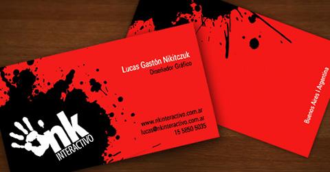 diseno tarjetas presentacion NK Diseños de tarjetas de presentación (95 diseños)