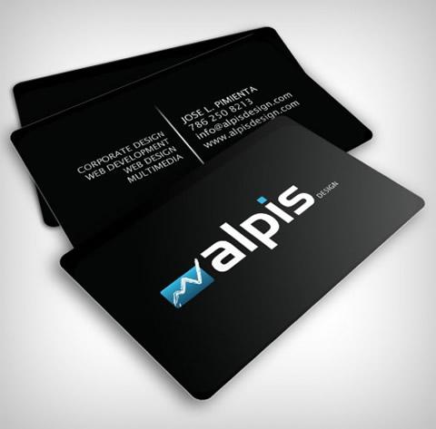 Diseños de tarjetas de presentación (95 diseños) - diseno-tarjetas-presentacion-alpis