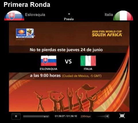Eslovaquia vs Italia en vivo - eslovaquia-italia-en-vivo-mundial