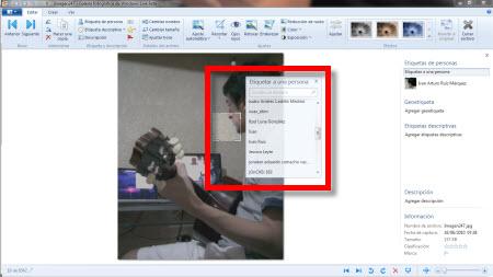 Galería Fotográfica de Windows Live Beta - etiquetar-fotos-windows-live-galeria