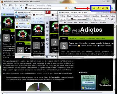 Acceder a varios navegadores desde Firefox - exploradores-dentro-firefox1