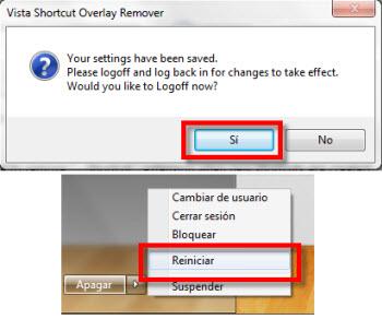 Quitar flecha de accesos directos - flechas-icono-acceso-directo