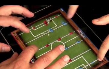 Futbolito en el iPad con Foosball HD - foosball-hd