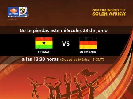 Ghana vs Alemania en vivo - ghana-alemania-en-vivo-mundial