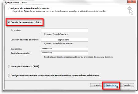 Agregar Gmail a Outlook 2010 usando IMAP - gmail-agregar-outlook