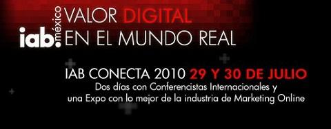 iab conecta 2010 IAB Conecta 2010, Conferencia de Marketing Online