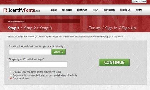 Encuentra las fuentes de una imagen con Identify Fonts - identify-fonts-identifica-letra